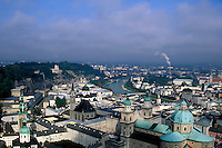 View from Hohensalburg Castle, Salzberg, Austria