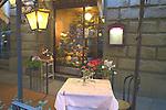 Exterior, La Posta Restaurant, Florence, Tuscany, Italy