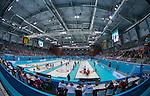Sochi 2014 - Wheelchair Curling // Curling en fauteuil roulant.<br /> Canada competes against Norway in Wheelchair Curling round robin play // Le Canada affronte Norvège dans le tournoi à la ronde de curling en fauteuil roulant. 10/03/2014.