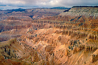Cedar Breaks<br />   from Point Supreme<br /> Cedar Breaks National Monument<br /> Colorado Plateau, Utah