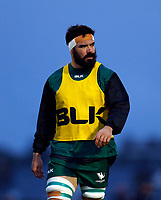 1st October 2021;  The Sportsground, Galway, Ireland; United Rugby Championships, Connacht versus Bulls; Connacht player Paul Boyle warms up