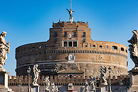 Castel Sant' Angelo, Castle of the Holy Angel, Rome, Italy