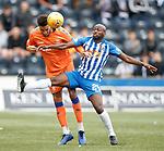 19.05.2019 Kilmarnock v Rangers: Connor Goldson and Youssouf Mulumbu