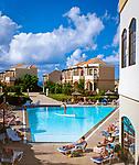 Spanien, Kanarische Inseln, Fuerteventura, La Pared: Ferienanlage, Pool, Bundalows | Spain, Canary Island, Fuerteventura, La Pared: resort, club, pool, bundalows