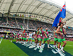 March-past on Day 2 of the Cathay Pacific / HSBC Hong Kong Sevens 2013 on 23 March 2013 at Hong Kong Stadium, Hong Kong. Photo by Aitor Alcalde / The Power of Sport Images