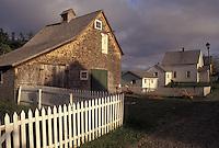 Sherbrooke, Nova Scotia, NS, Canada, Sherbrooke Village an 1860 Lumbering and Mining Town in Sherbrooke in Nova Scotia.