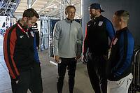 Columbus, OH - Thursday November 10, 2016: The U.S. Men's National team train in preparation for their Hexagonal round match vs Mexico at Training @ Mapfre Stadium