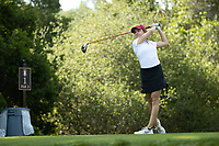 STANFORD, CA - APRIL 23: Brooke Seay at Stanford Golf Course on April 23, 2021 in Stanford, California.