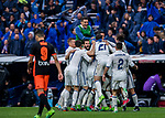 Players of Real Madrid celebrate during their La Liga match between Real Madrid and Valencia CF at the Santiago Bernabeu Stadium on 29 April 2017 in Madrid, Spain. Photo by Diego Gonzalez Souto / Power Sport Images