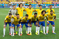 The Brazil team photo