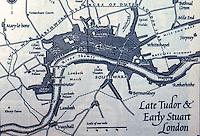 London: Later Tudor, Early Stuart. LONDON, Hibbert, p. 57.   Reference only.
