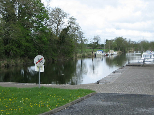 File image of the Lecarrow Canal in Co Roscommon