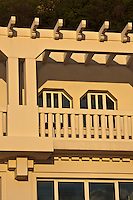 Europe/France/Aquitaine/64/Pyrénées-Atlantiques/Pays-Basque/Biarritz: Architecture Balnéaire  du front de mer- Plage de la Côte des Basques