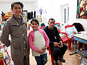 Iraq 2015 In the camp of Berseve, a Christian family from Mosul  <br /> Irak 2015  Au camp de Berseve, des Chretiens de Mossoul<br /> عیراق سالی 2015 که مپی بیرسیو ، بنه مالیک مه سیحیی مووسل .