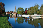 Great Britain, England, Oxfordshire: River Thames at Abingdon   Grossbritannien, England, Oxfordshire: die Themse bei Abingdon