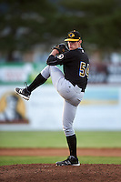 West Virginia Black Bears relief pitcher Matt Frawley (54) during a game against the Batavia Muckdogs on June 29, 2016 at Dwyer Stadium in Batavia, New York.  West Virginia defeated Batavia 9-4.  (Mike Janes/Four Seam Images)