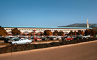 F.L. Wright: Marin Civic Center--Panorama, N. Wing.  Photo '83.