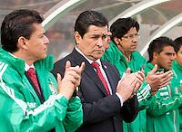 San Francisco, California - Saturday March 17, 2012: Luis Fernando Tena prior to Mexico vs Senegal U23 final Olympic qualifying tuneup. Mexico defeated Senegal 2-1