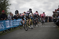the race leaders up La Redoute<br /> <br /> 103rd Liège-Bastogne-Liège 2017 (1.UWT)<br /> One Day Race: Liège › Ans (258km)