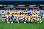 The Clare team which played against Limerick in the Munster Minor football quarter final at  Cusack Park. Photograph by John Kelly.