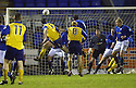 20/12/03          Copyright Pic : James Stewart.File Name : stewart10-stjohn_v_qos.BRIAN REID HEADS HOME QOTS'S SECOND....... .Payment should be made to :-.James Stewart Photo Agency, 19 Carronlea Drive, Falkirk. FK2 8DN      Vat Reg No. 607 6932 25.Office     : +44 (0)1324 570906     .Mobile  : +44 (0)7721 416997.Fax         :  +44 (0)1324 570906.E-mail  :  jim@jspa.co.uk.If you require further information then contact Jim Stewart on any of the numbers above.........