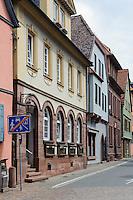 Altstadt von Wertheim, Baden-Württemberg, Deutschland