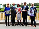 """OCTOBER 6, 2018 : Complexity, ridden by Jose Ortiz, wins the """"Win & You're In"""" Champagne Stakes on Champagne Stakes Day at Belmont Park on October 6, 2018 in Elmont, NY.  Sue Kawczynski/ESW/CSM"""