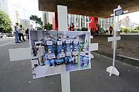 12.04.2020 - Homenagem ao trabalhadores da saúde em SP