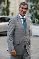 Jerome Cahuzac (Ministre delegue aupres du ministre de l economie et des Finances charge du Budget). .Parigi 22/8/2012.Consiglio dei Ministri.Foto Insidefoto / Gwendoline Le Goff / Panoramic