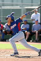 Santiago Chirino - Texas Rangers - 2010 Instructional League.Photo by:  Bill Mitchell/Four Seam Images..