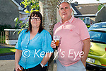 Marion and Michael Clifford attending the Midnight Cafe gig to the residents of Connolly Park on Saturday as part of a fundraiser for the Kerry Mental Health Association.
