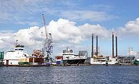 Nederland Amsterdam 2019 . Haven van Amsterdam. Damen Shiprepair. Foto Berlinda van Dam / Hollandse Hoogte