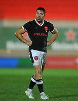 Wales Rhys Webb during the game<br /> <br /> Photographer Ian Cook/CameraSport<br /> <br /> 2020 Autumn Nations Cup - Wales v Georgia - Saturday 21st November 2020 - Parc y Scarlets - Llanelli - Wales<br /> <br /> World Copyright © 2020 CameraSport. All rights reserved. 43 Linden Ave. Countesthorpe. Leicester. England. LE8 5PG - Tel: +44 (0) 116 277 4147 - admin@camerasport.com - www.camerasport.com