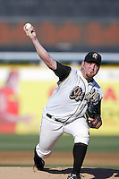 September 1 2008: Sean O'Sullivan of the Rancho Cucamonga Quakes during game against the Inland Empire 66'ers at The Epicenter in Rancho Cucamonga,CA.  Photo by Larry Goren/Four Seam Images