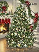 Dona Gelsinger, CHRISTMAS SYMBOLS, WEIHNACHTEN SYMBOLE, NAVIDAD SÍMBOLOS, paintings+++++,USGE1940,#xx# ,tree