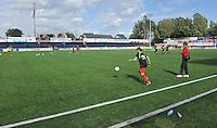 Belgium A - North Korea friendly game at Koksijde KVV Stadium - Belgie - Noord Korea : .stadion koksijde.foto David Catry / Joke Vuylsteke / Vrouwenteam.be