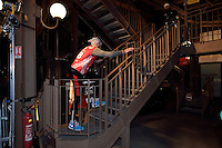 Dano CECETKA (slovakia) lors de La Verticale de la Tour Eiffel - 17 mars 2016 - Paris - France