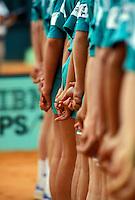 Ballkids at Roland Garros lineup