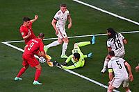 COPENHAGEN, DENMARK - JUNE 17 : Thibaut Courtois goalkeeper of Belgium during the 16th UEFA Euro 2020 Championship Group B match between Denmark and Belgium on June 17, 2021 in Copenhagen, Denmark, 17/06/2021  <br /> Photo Photonews / Panoramic / Insidefoto <br /> ITALY ONLY