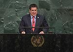 72 General Debate – 20 September <br /> <br /> <br /> His Excellency Horacio Manuel Cartes Jara, President of the Republic of Paraguay