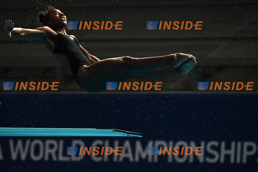 ABEL Jennifer CAN <br /> Day9 01/08/2015 Aquatics Center<br /> Diving - Tuffi / Women's Springboard 3m Final - Trampolino 3m Donne Finale <br /> XVI FINA World Championships Aquatics  <br /> Kazan Tatarstan RUS <br /> Photo Andrea Staccioli/Deepbluemedia/Insidefoto