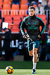 Cristiano Ronaldo of Real Madrid in training prior to the La Liga 2017-18 match between Valencia CF and Real Madrid at Estadio de Mestalla  on 27 January 2018 in Valencia, Spain. Photo by Maria Jose Segovia Carmona / Power Sport Images