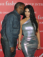 24 October 2019 - New York, New York - Kanye West, Kim Kardashian West. 2019 FGI Night Of Stars Gala held at  Cipriani Wall Street. Photo Credit: AdMedia /MediaPunch