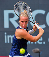Den Bosch, Netherlands, 08 June, 2016, Tennis, Ricoh Open, Richel Hogenkamp (NED)<br /> Photo: Henk Koster/tennisimages.com
