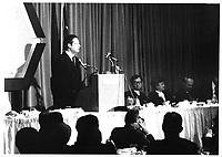 Michel Belanger, 8 novembre 1977<br /> <br /> PHOTO : Agence Quebec Presse