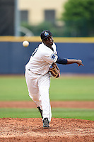Lake County Captains pitcher Alexis Paredes (30) delivers a pitch during a game against the Dayton Dragons on June 8, 2014 at Classic Park in Eastlake, Ohio.  Lake County defeated Dayton 4-2.  (Mike Janes/Four Seam Images)