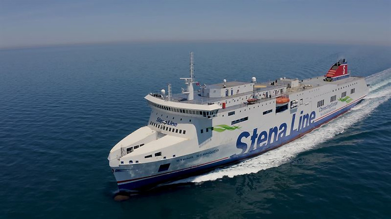 Stena Scandica is 222m long and has a capacity of 200 cabins
