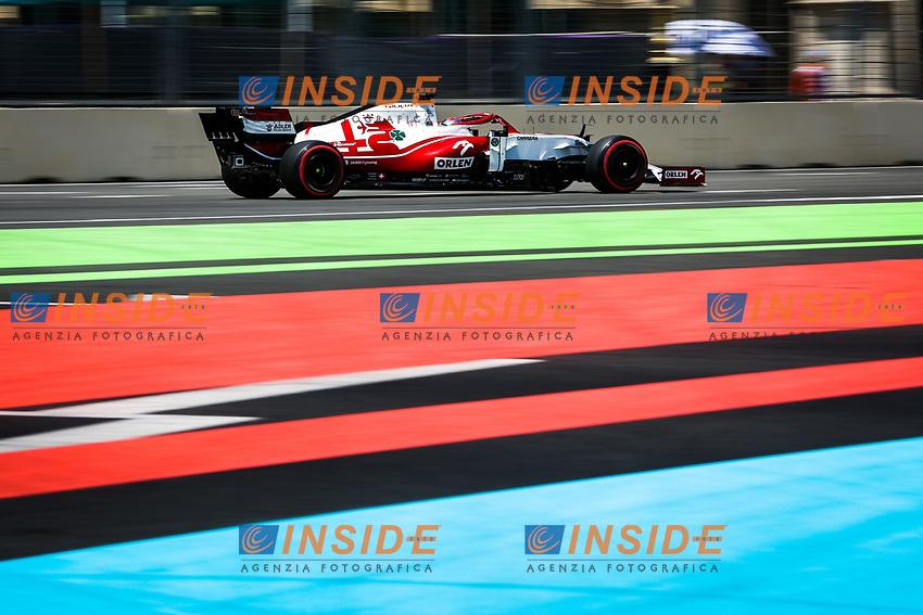 07 RAIKKONEN Kimi (fin), Alfa Romeo Racing ORLEN C41, action during the Formula 1 Azerbaijan Grand Prix 2021 from June 04 to 06, 2021 on the Baku City Circuit, in Baku, Azerbaijan -<br /> FORMULA 1 : Grand Prix Azerbaijan <br /> 05/06/2021 <br /> Photo DPPI/Panoramic/Insidefoto <br /> ITALY ONLY