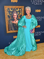 """LOS ANGELES, USA. October 18, 2019: Helen Mirren at the premiere of HBO's """"Catherine the Great"""" at the Hammer Museum.<br /> Picture: Paul Smith/Featureflash"""