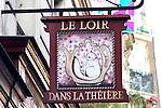 Exterior, Le Loire Restaurant, Paris, France, Europe